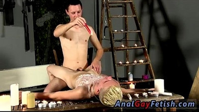 bondage  boys  brown hair