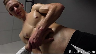 blonde gay   casting   cocks