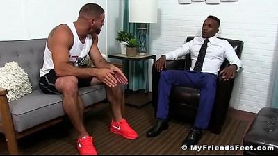 black gay  fetishe  foot fetish